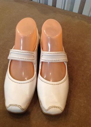 Удобнейшие туфли - мокасины бренда tamaris, р. 36,5 (36)