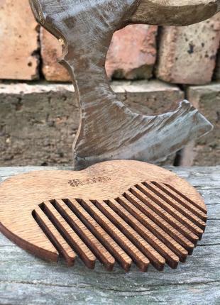 Гребінець для волосся. еко-дерево.