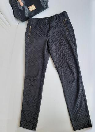 Брюки чёрные с высокой посадкой штаны