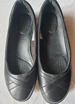 Легкие удобнейшие туфли rockport adiprene by adidas кожа 25 см