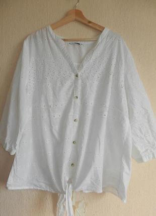 Шикарная рубашка прошва ришелье