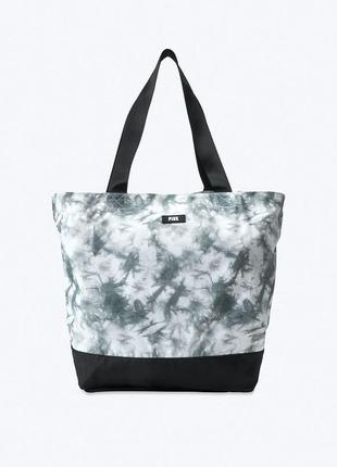 Вместительная спортивная сумка шоппер victoria's secret пляжная сумка с широкими ручками оригинал сша 🇺🇸