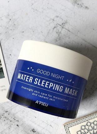 Эффективная ночная маска с  гелеподобной текстурой a'pieu good night water sleeping mask