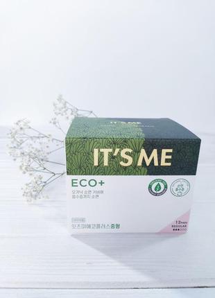 Гигиенические прокладки с крылышками it's me eco plus regular 12 шт