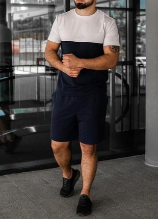 Костюм футболка шорты мужской