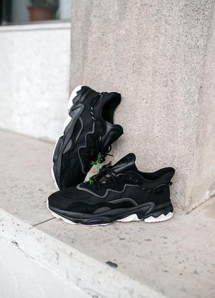 Женские кроссовки adidas ozweego black white 36-37-38-39-40-41