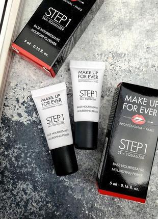 Праймер make up for ever step 1 skin equalizer nourishing primer