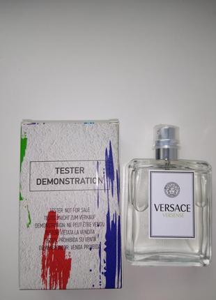 Женская парфюмированная вода versace versense тестер 50 мл