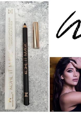Карандаш для век natasha moor kohl it magic black eyeliner pencil