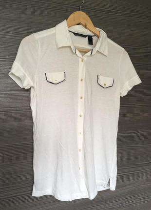 Трикотажная рубашка mango