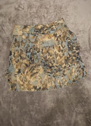 Лёгкая летняя юбка с рюшами