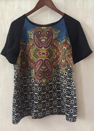 Натуральная блуза топ