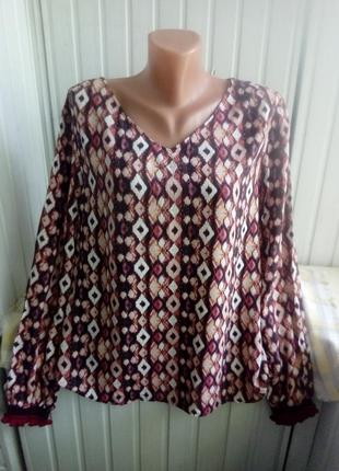 Вискозная тоненькая блуза