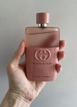 Gucci guilty pour femme парфюмированная вода 90 ml