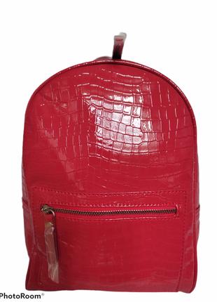 Рюкзак красний под лак
