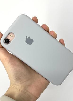 Чехол silicone case на айфон для iphone 7 8 se 2020 се 2