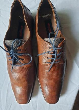 Мужские люкс туфли lloyd 42 р полностью натуральная кожа
