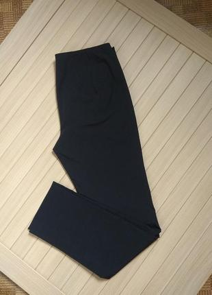 Чёрные стрейчевые брюки штаны мега стрейч gerry weber roxane slim ☕ 46р