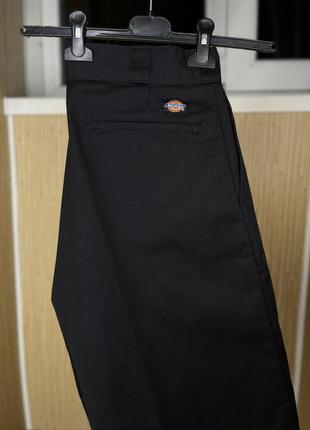 Крутые мужские чёрные бриджи шорты dickies оригинал размер м