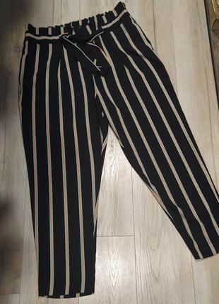 Вільні падучі брюки штани з поясом великого розміру