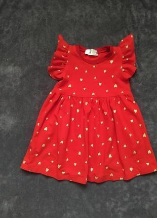 Летнее платье для девочки 92р hm