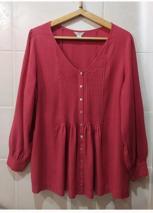 Шикарная блуза большого размера2 фото