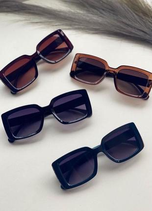 Солнцезащитные очки прямоугольные