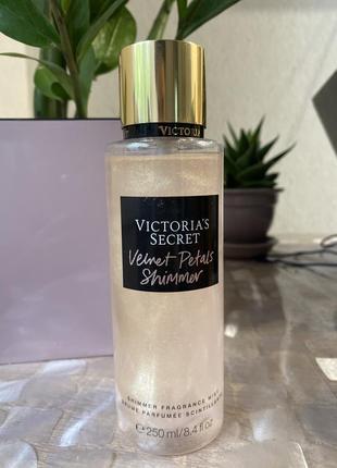 Mist victoria secret velvet petals shimmer