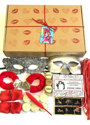 Романтический подарочный набор в коробке