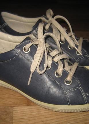 Кожаные туфли ecco оригинал - 36 размер
