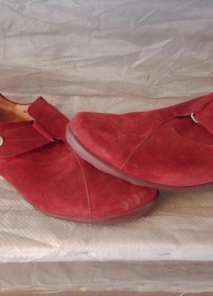 Замшевые туфли think