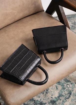 Стильная маленькая сумочка клатч сумка с длинным ремешком
