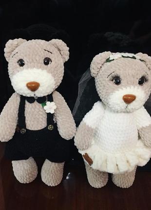 Весільні ведмежата свадебные медвежата
