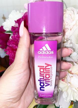 Парфюмированнай дезедорант для тела adidas natural vitality