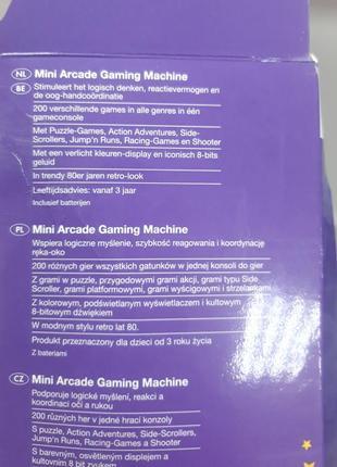 Мини игровой автомат playtive 200 игр4 фото