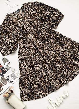 Платье свободного кроя большого размера