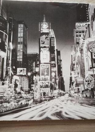 Классная модная картинка с изображением иностранного ночного города