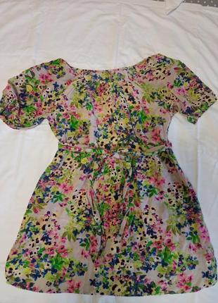 Платье шелкое