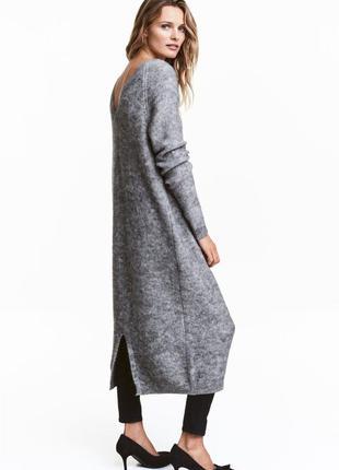 Платье из смесовой шерсти от h&m