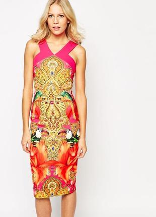 Шикарное летнее платье по фигуре