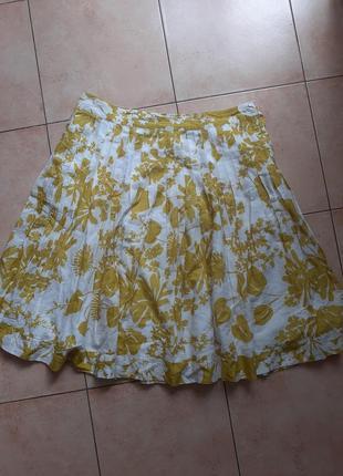 Юбка хлопок,юбка летняя,юбка натуральная ультратонкая,мини юбка
