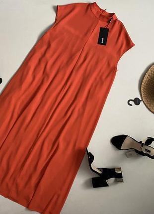 Новое роскошное платье миди свободного кроя weekend