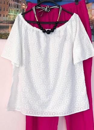 Блуза прошва , блуза решелье