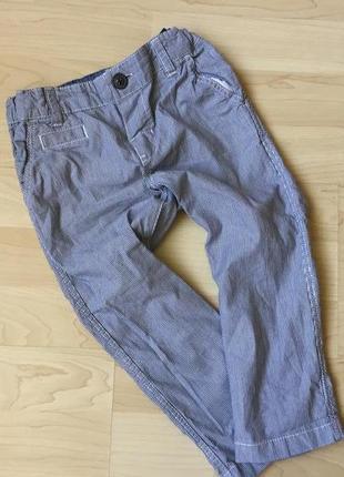 Летние штанишки чинос 1-1,5 h&m состояние новыз