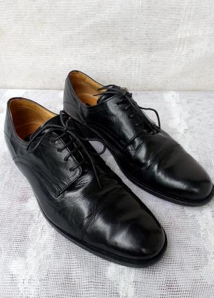 C. comberti италия оригинал туфли кожа р 41 цвет черный