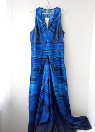 Вечірнє плаття неймовірного небесного кольору оригінал gottex