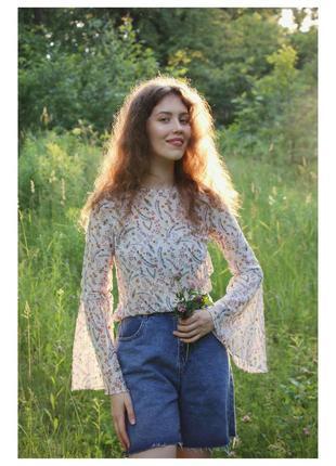 Замечательная летняя блуза🧚♀️ bikbok