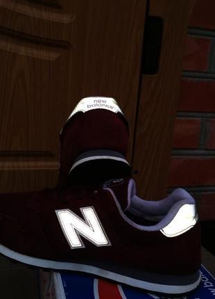 Кроссовки new balance 373 adidas 574 замшевые4 фото