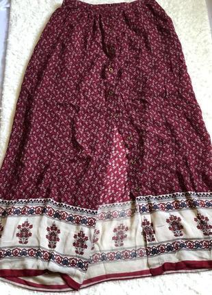 Трендовая вискозная юбка в пол от stradivarius ❤️
