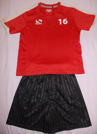 Футбольная форма sondico на 7-8 лет 122-128см
